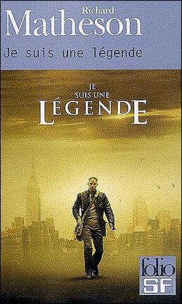 Couverture du livre : Je suis une légende