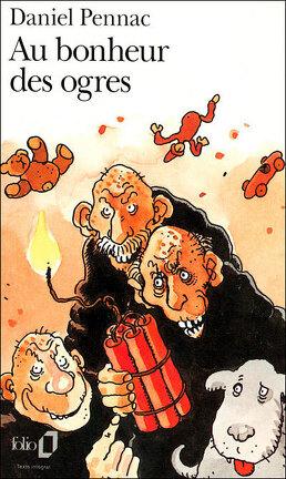 Couverture du livre : Au bonheur des ogres