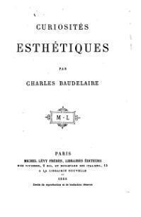 Couverture du livre : Curiosités esthétiques