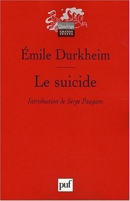 Couverture du livre : Le Suicide
