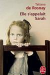 couverture Elle s'appelait Sarah