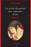 couverture Millénium, Tome 3 : La reine dans le palais des courants d'air