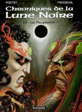 Couverture du livre : Chroniques de la Lune Noire, tome 13 : La prophétie