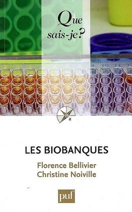 Couverture du livre : Les biobanques