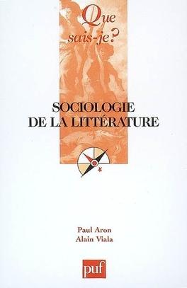 Couverture du livre : Sociologie de la littérature