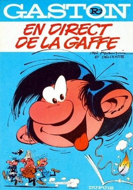 Couverture du livre : Gaston, Tome R4 : En direct de la gaffe