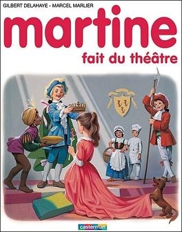 Couverture du livre : Martine fait du théâtre