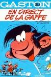 couverture Gaston, Tome R4 : En direct de la gaffe