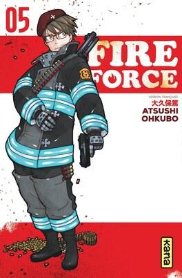 Couverture du livre : Fire Force, Tome 5