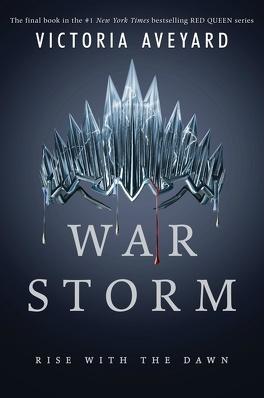 Couverture du livre : Red Queen, tome 4 : War Storm
