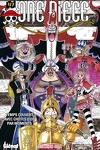 couverture One Piece, Tome 47 : Temps couvert avec chutes d'os par moments