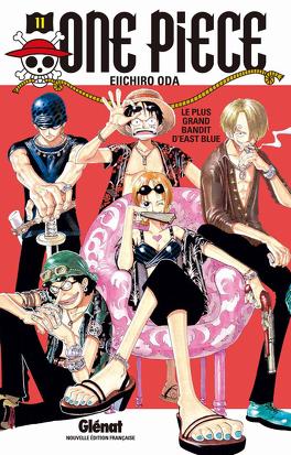 Couverture du livre : One Piece, Tome 11 : Le Plus Grand Bandit d'East Blue