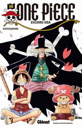 Couverture du livre : One Piece, Tome 16 : Successeurs