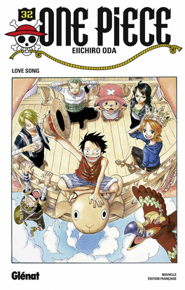 Couverture du livre : One Piece, Tome 32 : Love Song