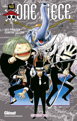 Couverture de One Piece, Tome 42 : Les Pirates contre le CP9