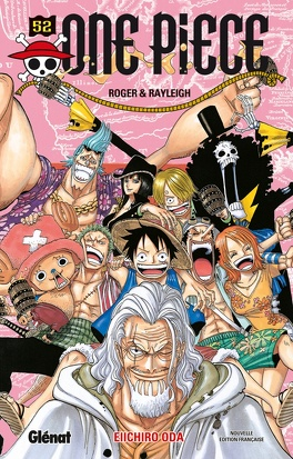 Couverture du livre : One Piece, Tome 52 : Roger & Rayleigh