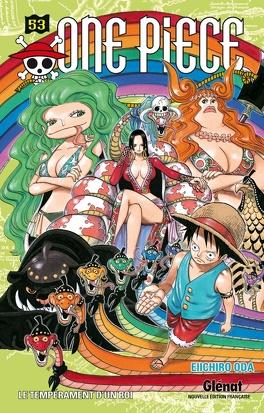Couverture du livre : One Piece, Tome 53 : Le Tempérament d'un roi