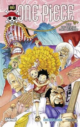Couverture du livre : One Piece, Tome 80 : Vers une bataille sans précédent
