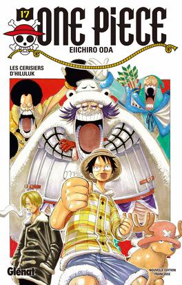 Couverture du livre : One Piece, Tome 17 : Les Cerisiers d'Hiluluk