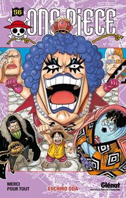Couverture de One Piece, Tome 56 : Merci pour tout