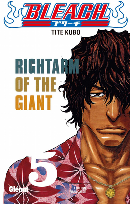 Couverture du livre : Bleach, Tome 5 : Rightarm of the Giant