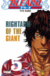 couverture Bleach, Tome 5 : Rightarm of the Giant