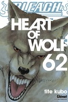 couverture Bleach, Tome 62 : Heart of Wolf