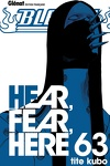 couverture Bleach, Tome 63 : Hear, Fear, Here