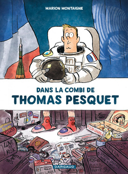 Couverture de Dans la combi de Thomas Pesquet