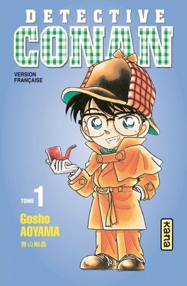 Couverture du livre : Détective Conan, Tome 1