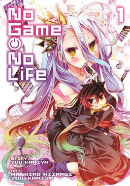 No Game No Life Tome 1 Manga Livre De Yu Kamiya Mashiro