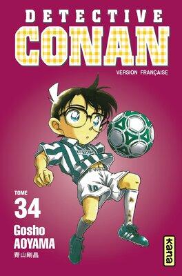 Couverture du livre : Détective Conan, tome 34