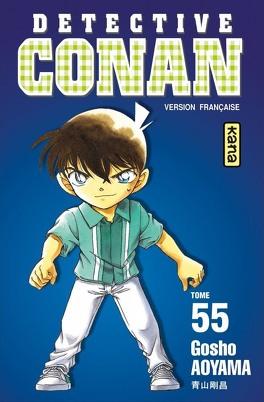 Couverture du livre : Détective Conan, tome 55