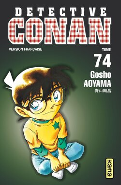 Couverture de Détective Conan, tome 74