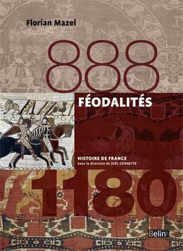 Couverture du livre : Féodalités (888-1180)