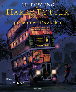 Couverture du livre : Harry Potter, Tome 3 : Harry Potter et le Prisonnier d'Azkaban (Illustré)
