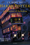 couverture Harry Potter, Tome 3 : Harry Potter et le Prisonnier d'Azkaban (Illustré)