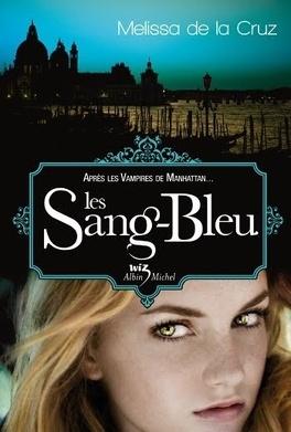 Couverture du livre : Les Vampires de Manhattan, Tome 2 : Les Sang-bleu