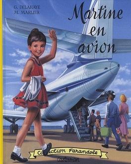 Couverture du livre : Martine en avion