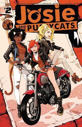 Couverture du livre : Josie & the Pussycats (2016-) #2