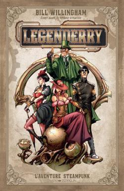 Couverture du livre : Legenderry : L'aventure steampunk