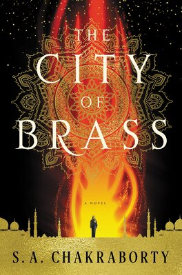 Couverture du livre : Daevabad, tome 1: The City of Brass