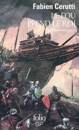 Couverture du livre : Le Bâtard de Kosigan, Tome 2 : Le fou prend le roi