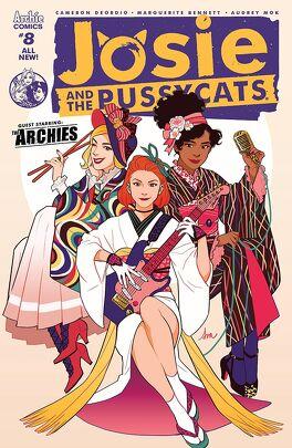 Couverture du livre : Josie & The Pussycats (2016-) #8