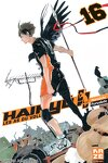 couverture Haikyū !! Les As du volley, Tome 16