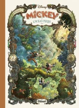 Couverture du livre : Mickey et l'océan perdu