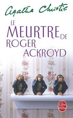 Couverture de Le Meurtre de Roger Ackroyd