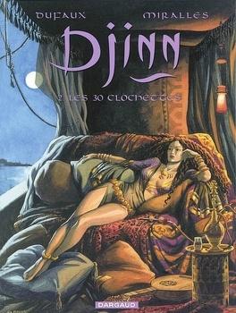 Couverture du livre : Djinn, tome 2 : Les 30 clochettes