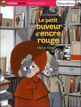 Couverture du livre : Draculivre, tome 4 : Le Petit Buveur d'encre rouge