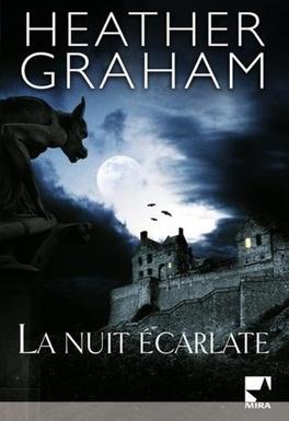 Couverture du livre : La nuit écarlate